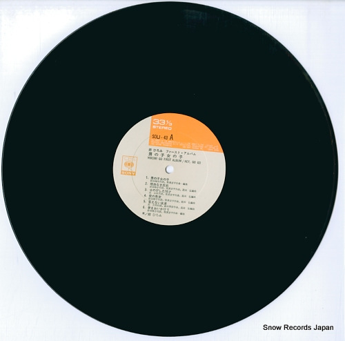 GO, HIROMI first album / hey, go go SOLJ-43 - disc