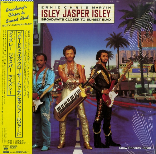ISLEY JASPER ISLEY broadway's closer to sunset blvd 28AP2965 - front cover