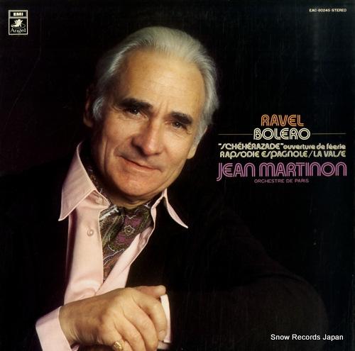 MARITINON, JEAN ravel; bolero, lavalse & rapsodie espagnole etc. EAC-80245 - front cover
