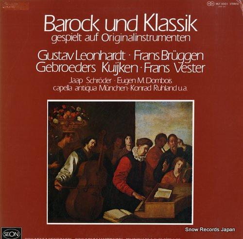 LEONHARDT, GUSTAV barock und klassik MLT5001 - front cover