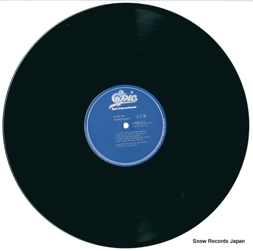 TRANCE DANCE a-ho-ho do the dance 28.3P-831 - disc