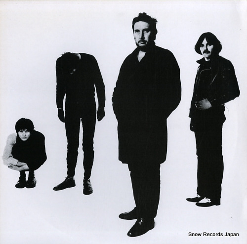 STRANGLERS, THE black and white GP590 - front cover