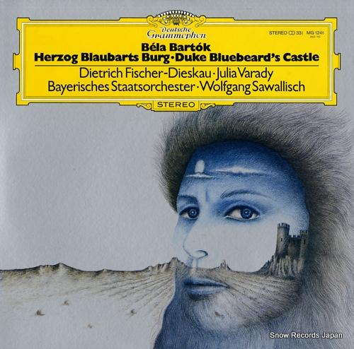 SAWALLISCH, WOLFGANG bartok; duke bluebeard's castle MG1241 - front cover