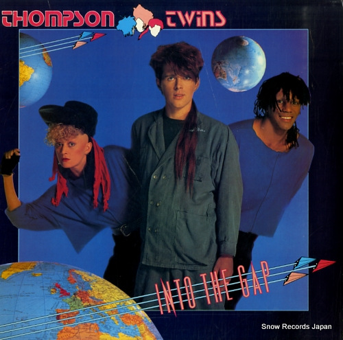 THOMPSON TWINS into the gap AL8-8200 - front cover