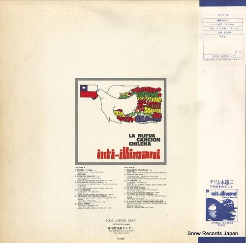 INTI-ILLIMANI la nueva cancion chilena CFD-0001 - back cover