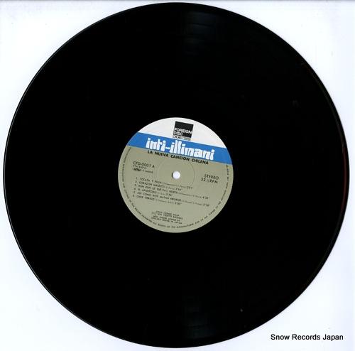 INTI-ILLIMANI la nueva cancion chilena CFD-0001 - disc