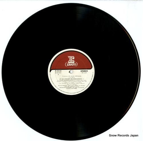 REDEL, KURT bach; les six concerts brandebourgeois-1 RE-1024-RE - disc