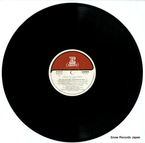 REDEL, KURT j.s.bach; les six concerts brandebourgeois-2 RE-1025-RE - disc