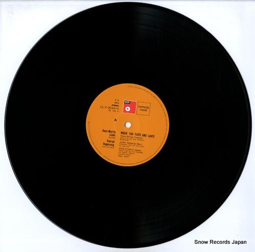 LINDE, HANS MARTIN musik fur flote und laute ULX-3044-H - disc