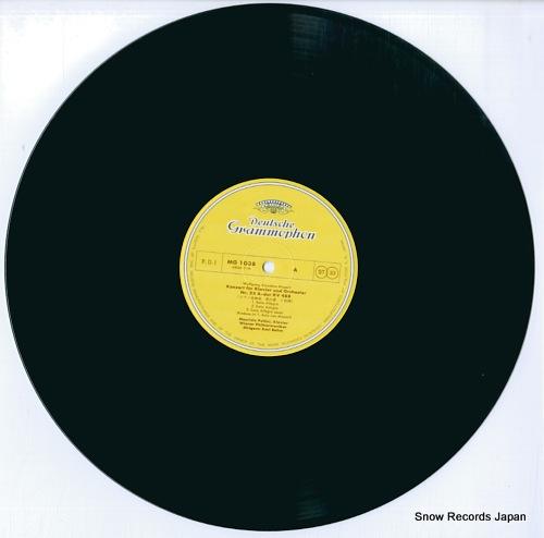 POLLINI, MAURIZIO / KARL BOHM mozart; piano concertos k.488 & k.459 MG1038 - disc