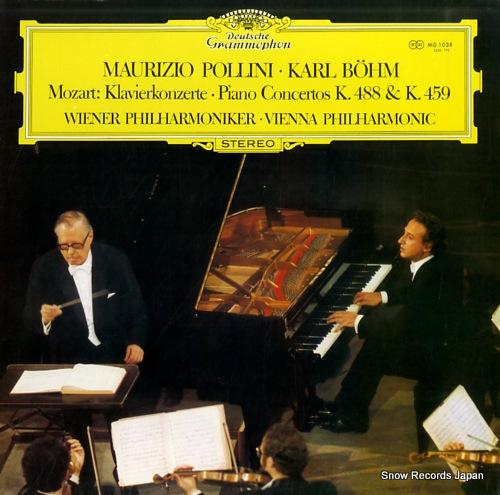 POLLINI, MAURIZIO / KARL BOHM mozart; piano concertos k.488 & k.459 MG1038 - front cover