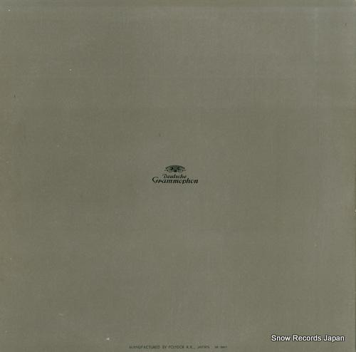 RICHTER, KARL bach organ recital vol.1 MG-2117 - back cover