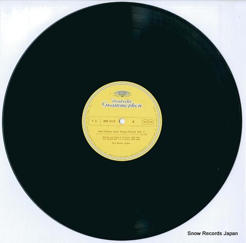 RICHTER, KARL bach organ recital vol.1 MG-2117 - disc
