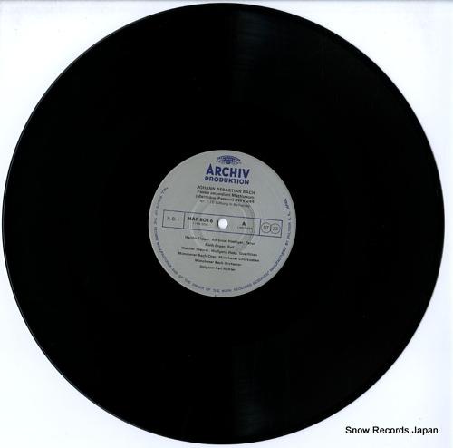 RICHTER, KARL bach; passio secundum matthaeum MAF8016/9 - disc