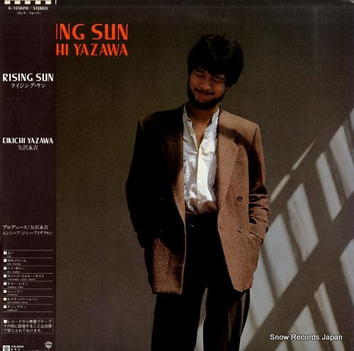 YAZAWA, EIKICHI rising sun K-12502W - front cover