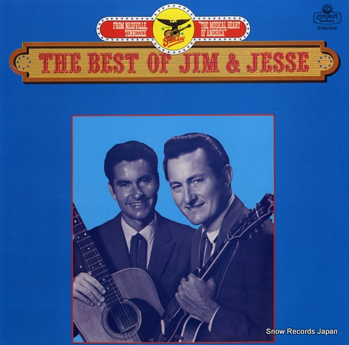 JIM AND JESSE the best of jim & jesse GT6010 - front cover