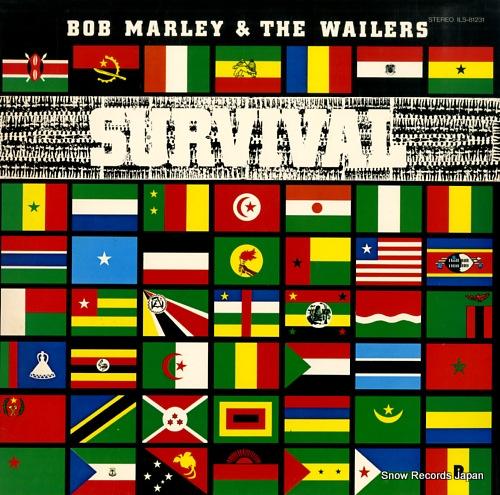 ボブ・マーリィ&ザ・ウェイラーズ サバイバル(黒の生存) ILS-81231