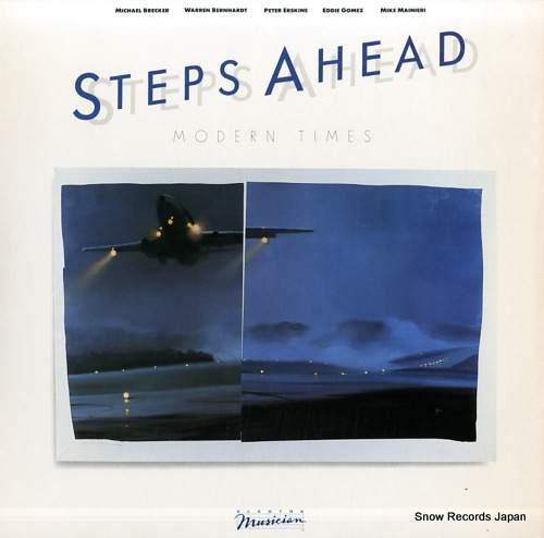 STEPS AHEAD modern times 960351-1-E - front cover