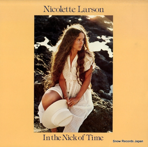 LARSON, NICOLETTE in the nick of time HS3370 - front cover