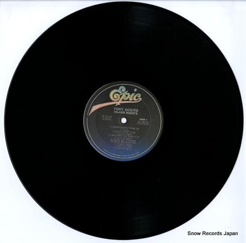 SCIUTO, TONY island nights JE36152 - disc