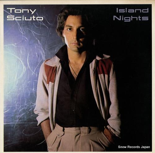 SCIUTO, TONY island nights JE36152 - front cover