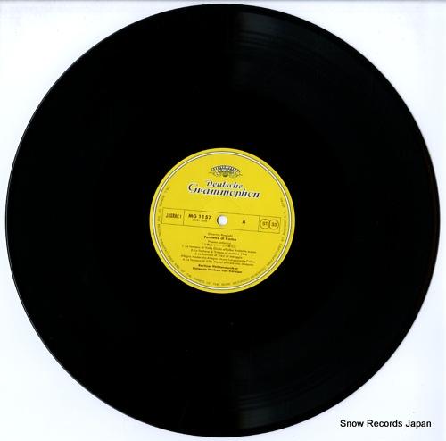 KARAJAN, HERBERT VON respighi; fontane di roma / pini roma MG1157 - disc