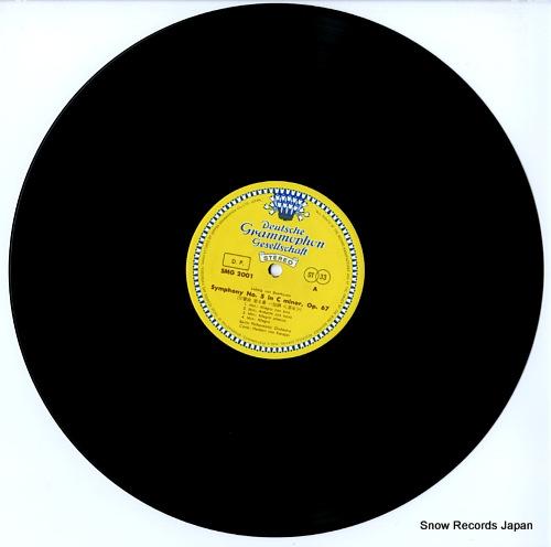 KARAJAN, HERBERT VON beethoven; symphony no.5 in c minor, op.67 SMG-2001 - disc