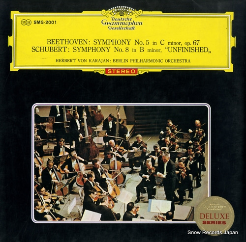 KARAJAN, HERBERT VON beethoven; symphony no.5 in c minor, op.67 SMG-2001 - front cover
