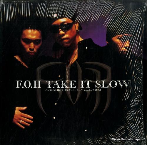 F.O.H take it slow VIBLP-003 - front cover