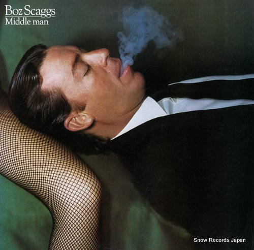 SCAGGS, BOZ middle man 25AP1760 - front cover