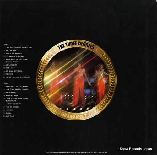 THREE DEGREES, THE grand prix 20 29AP31 - back cover