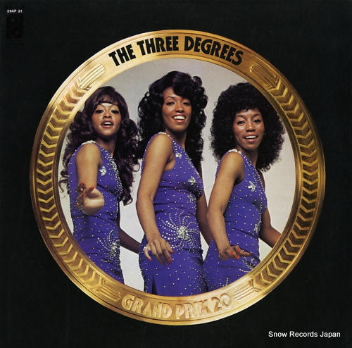 THREE DEGREES, THE grand prix 20 29AP31 - front cover