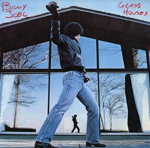 JOEL, BILLY glass houses 25AP1800 - front cover