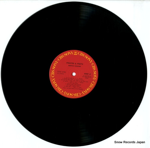 HIGGINS, BERTIE pirates and poets 25AP2490 - disc