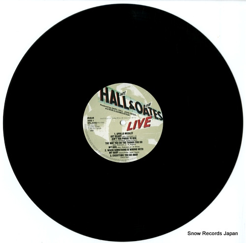 HALL, DARYL, AND JOHN OATES live at the apollo with david ruffin & eddie kendrick RPL-8312 - disc