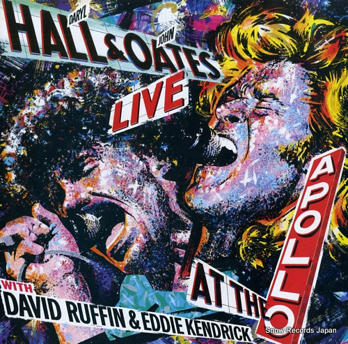 HALL, DARYL, AND JOHN OATES live at the apollo with david ruffin & eddie kendrick RPL-8312 - front cover