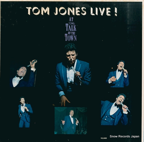 JONES, TOM live SLC348 - back cover