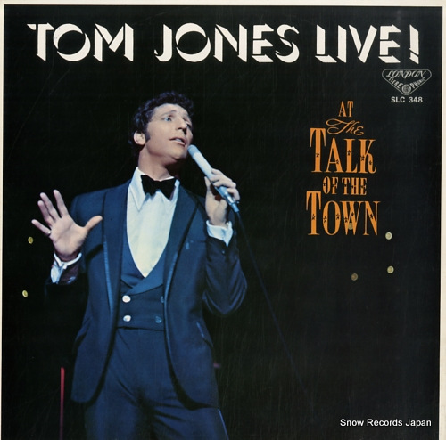 JONES, TOM live SLC348 - front cover