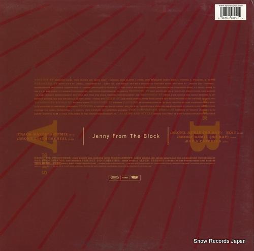 LOPEZ, JENNIFER jenny from the block 4979825 - back cover