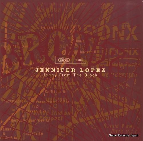 LOPEZ, JENNIFER jenny from the block 4979825 - front cover