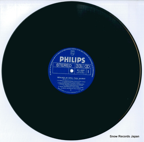 MAURIAT, PAUL retalhos de cetim SFX-6002 - disc