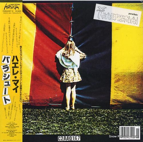 PARACHUTE haere mai C28A0167 - front cover