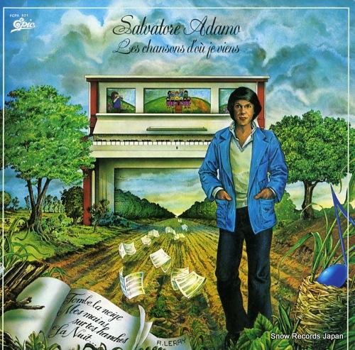 ADAMO, SALVATORE les chansons's d'ou je viens FCPA521 - front cover