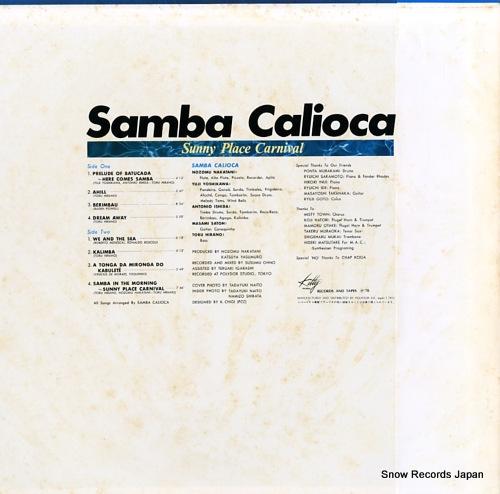 SAMBA CALIOCA sunny place carnival MKF1041 - back cover