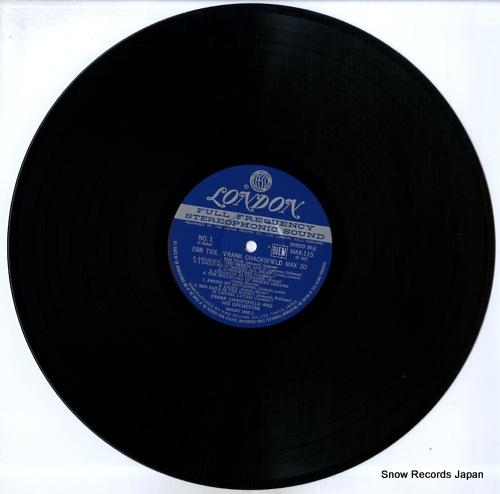 CHACKSFIELD, FRANK ebb tide / max 20 MAX115 - disc