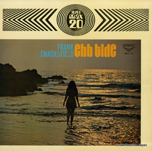 CHACKSFIELD, FRANK ebb tide / max 20 MAX115 - front cover