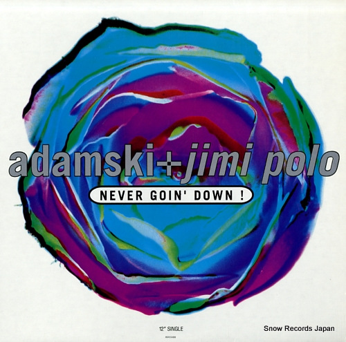 ADAMSKI AND JIMI POLO never goin' down MCA12-54283 - front cover