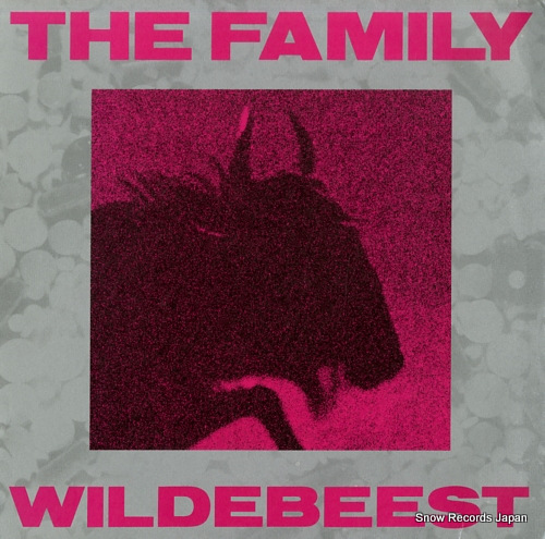 FAMILY, THE wildebeest PGLP002 - front cover