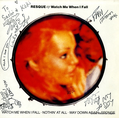RESQUE watch me when i fall