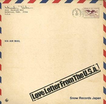 舘ひろし love letter from the u.s.a. Vinyl Records
